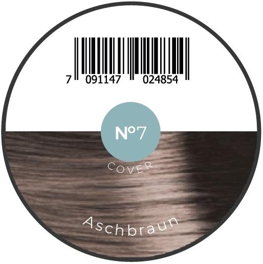Haarfiber Aschbraun