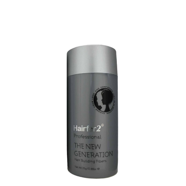 Hairfor2 Hair Building Fibers Grey 25 g