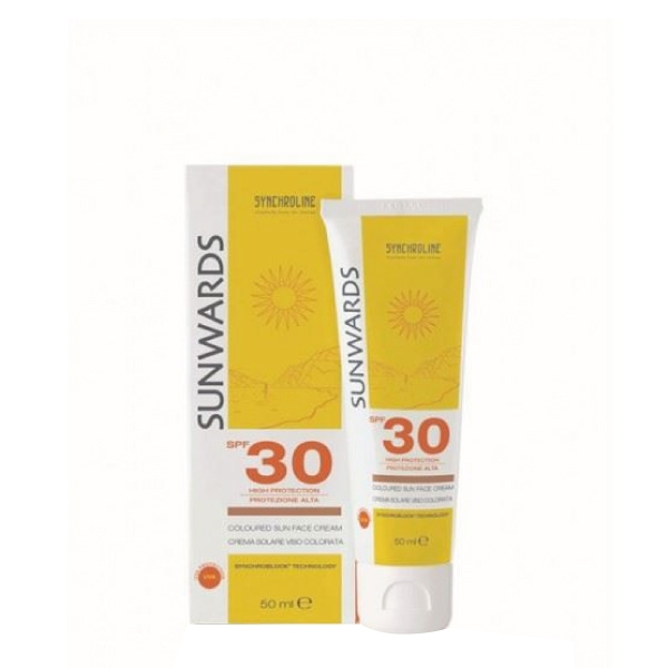 Dermokosmetika Synchroline Sunwards face cream SPF 30 teintée