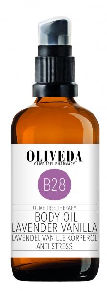 Körperöl Lavendel Vanille - Anti Stress