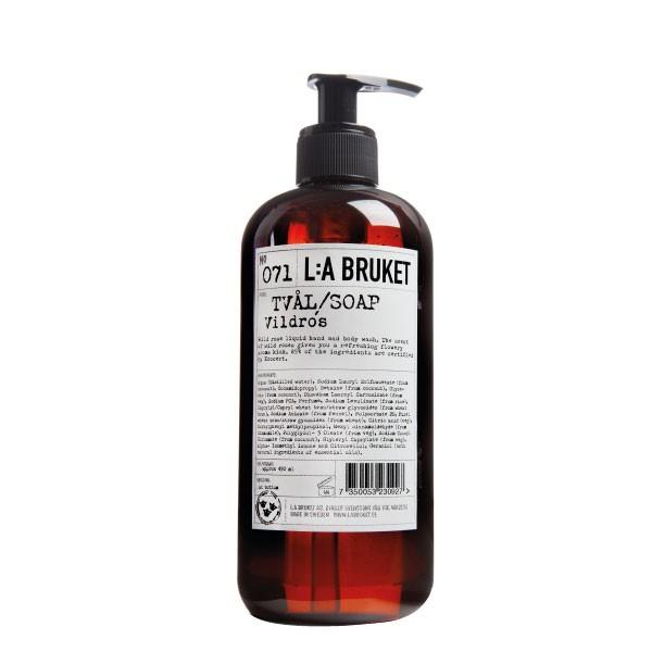 L:A Bruket No.71 Liquid Soap Wild Rose 450ml