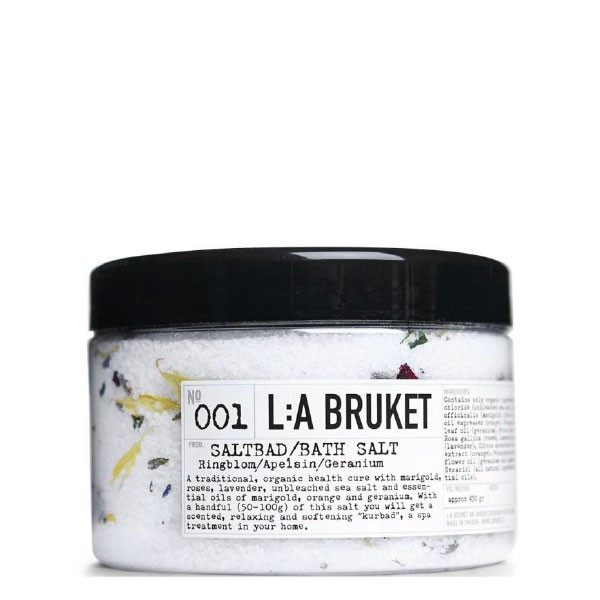 L:A Bruket No.01 Bath Salt Marigold/Orange/Geranium 450 g