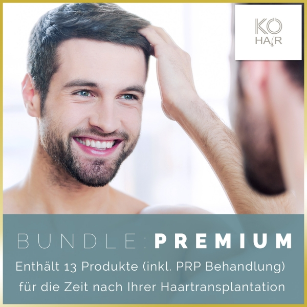 Haartransplantation Bundle Premium