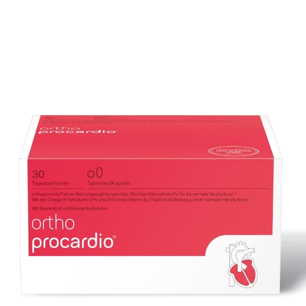 orthoprocardio Tabletten/Kapseln 30 Tagesportionen