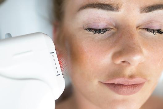 Mundbereich Ultraschall