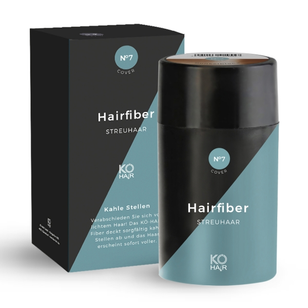 KÖ-HAIR FIBERS Haarverdichter 12g Aschblond