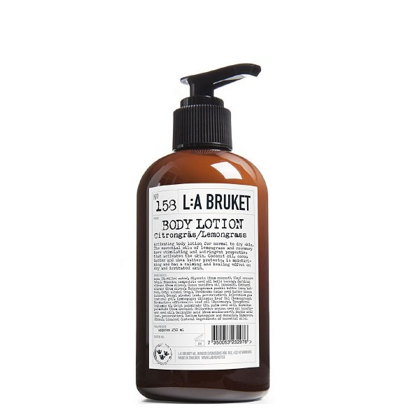 L:A Bruket No.158 Body Lotion Lemongrass 250 ml