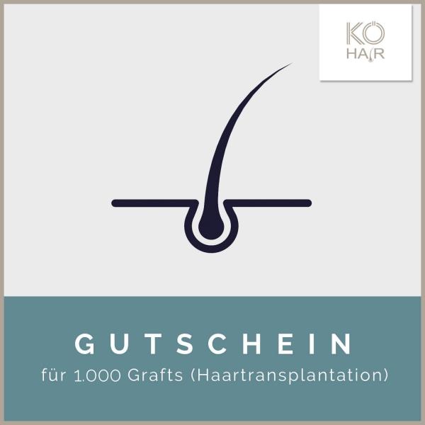 Haartransplantation 1.000 Grafts