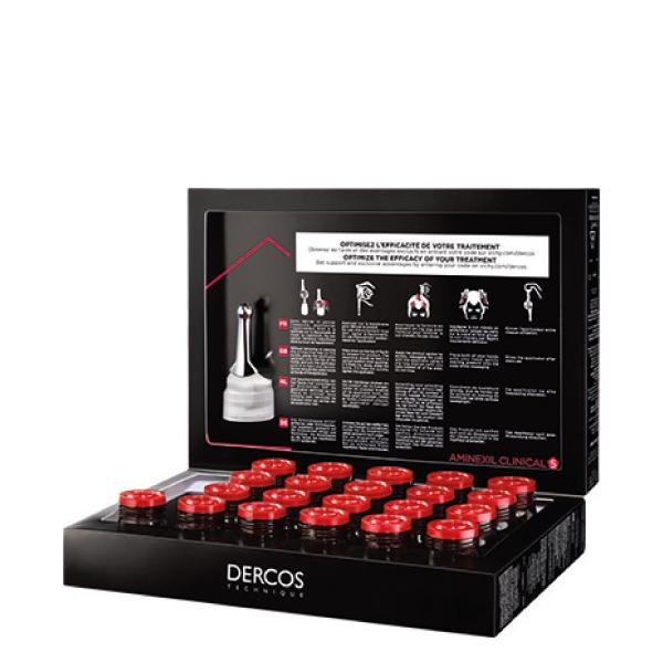 Vichy Dercos Aminexil Clinical 5 für Männer 21x6 ml