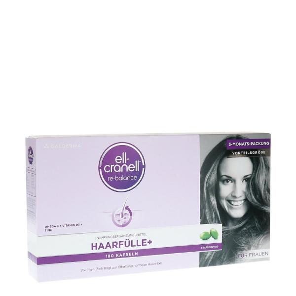 Ell-Cranell® Haarfülle + für Frauen 180 Kap.Galderma