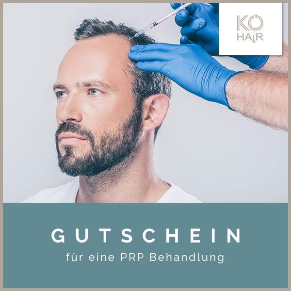 KÖ-HAIR PRP Behandlungs-Gutschein