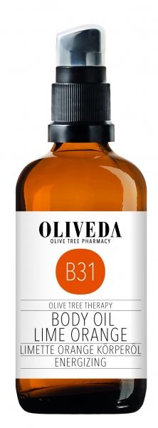 Körperöl Limette Orange - Energizing