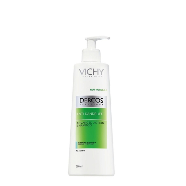 Vichy Dercos Anti-Schuppen Shampoo fettige Kopfhaut 390ml