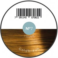 Haarfiber Goldbraun