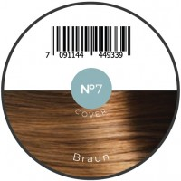 Haarfiber Braun