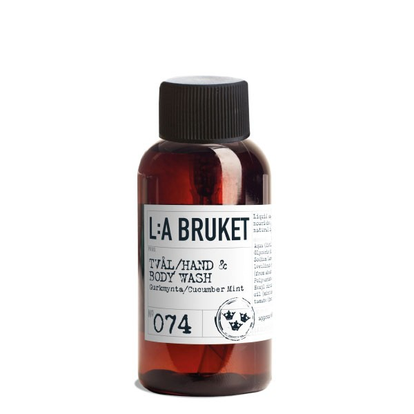 L:A Bruket No.74 Liquid Soap Cucumber/Mint 450ml