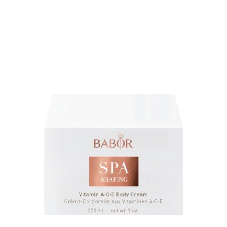 Babor Shaping Vitamin Ace Body Cream 200 Ml Ksmetik Dr Hydro Cellular Hyaluron 50 Serum 30