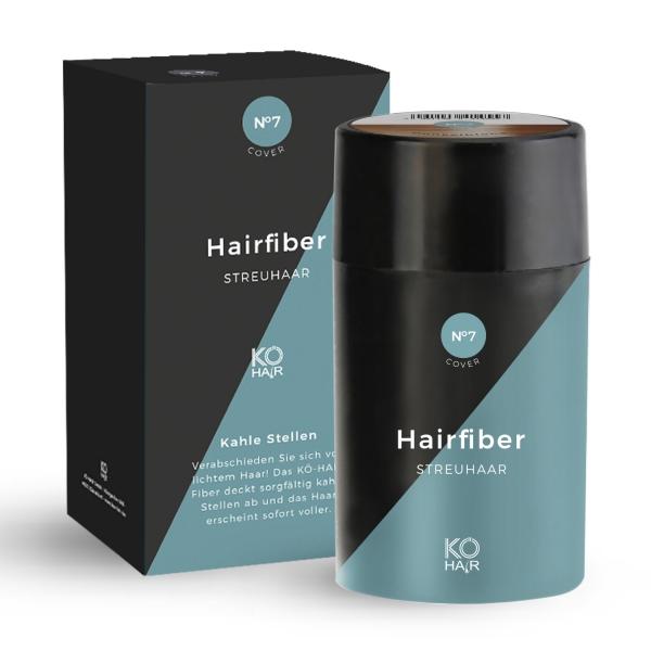 KÖ-HAIR FIBERS Haarverdichter 12g Rotbraun