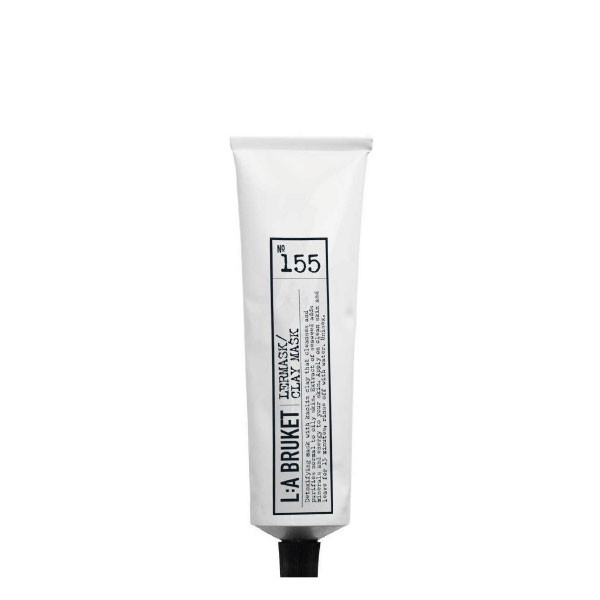 L:A Bruket No.155 Clay Mask Natural 100ml