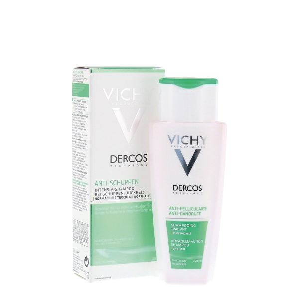 Vichy Dercos Anti-Schuppen Shampoo trockene Kopfhaut 200ml