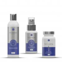 Set gegen Haarausfall und für Haarwachstum