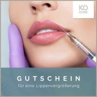 Geschenkgutschein KÖ-Klinik Lippenunterspritzung 1ml
