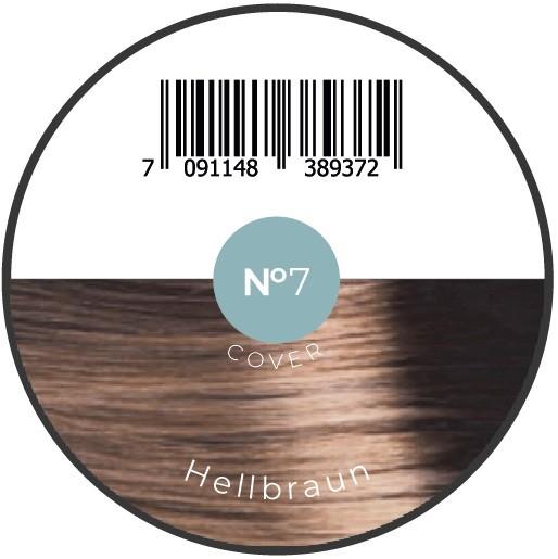 Haarfiber Hellbraun