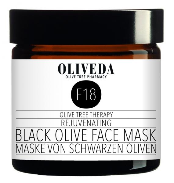 Maske schwarze Oliven - Rejuvenation