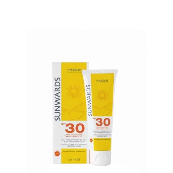 Synchroline Sunwards face cream for oily skin SPF 30