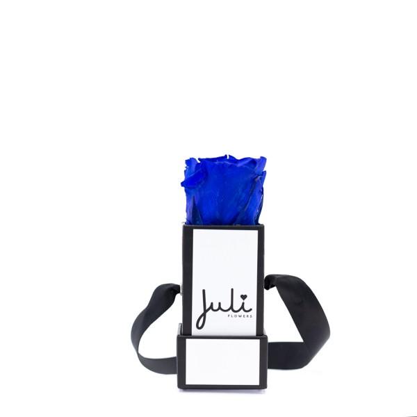 Blau Mini Weiß - quadrat