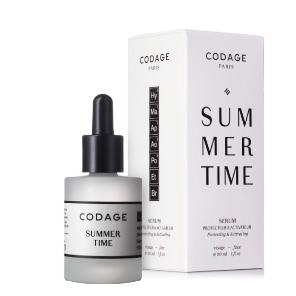 Codage Summer Time Protecting & Activating Serum