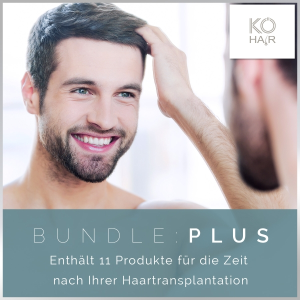Haartransplantation Bundle Plus