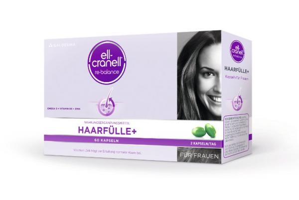 Ell-Cranell® Haarfülle+ für Frauen 60 Kap. Galderma