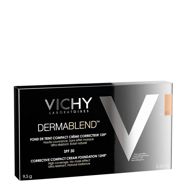 Vichy DERMABLEND Kompakt-Creme-Make-up gold 45