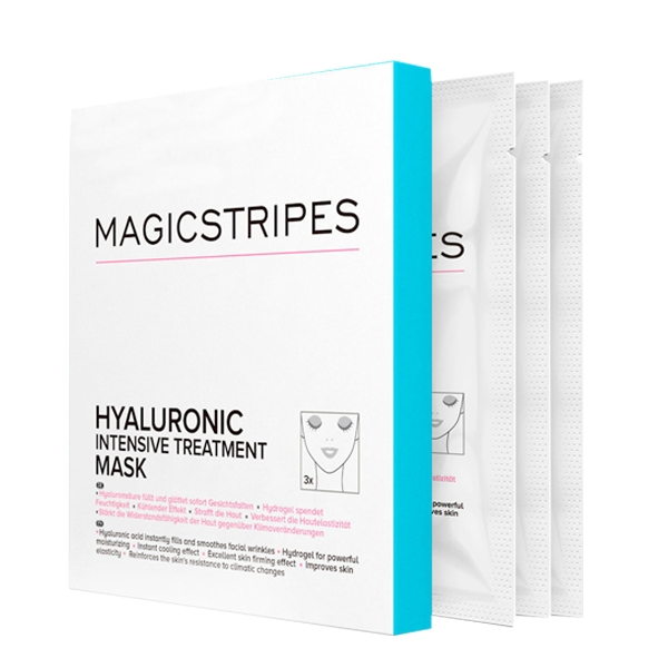 Magicstripes Hyaluronic Intensive Treatment Maske 3 Masken