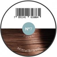 Haarfiber Mittelbraun