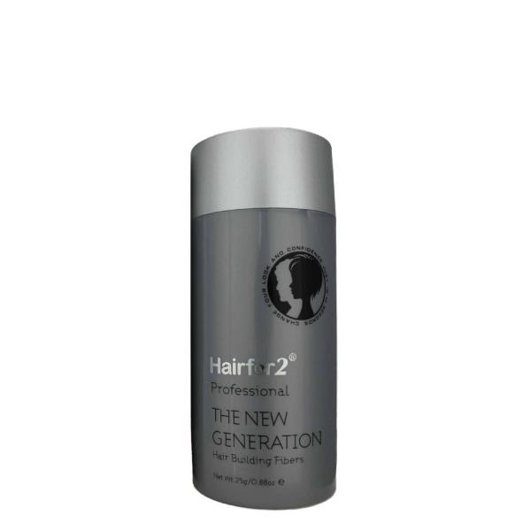 Hairfor2 Hair Building Fibers Ash Brown 25g