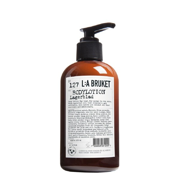 L:A Bruket No.127 Body Lotion Laurel Leaf